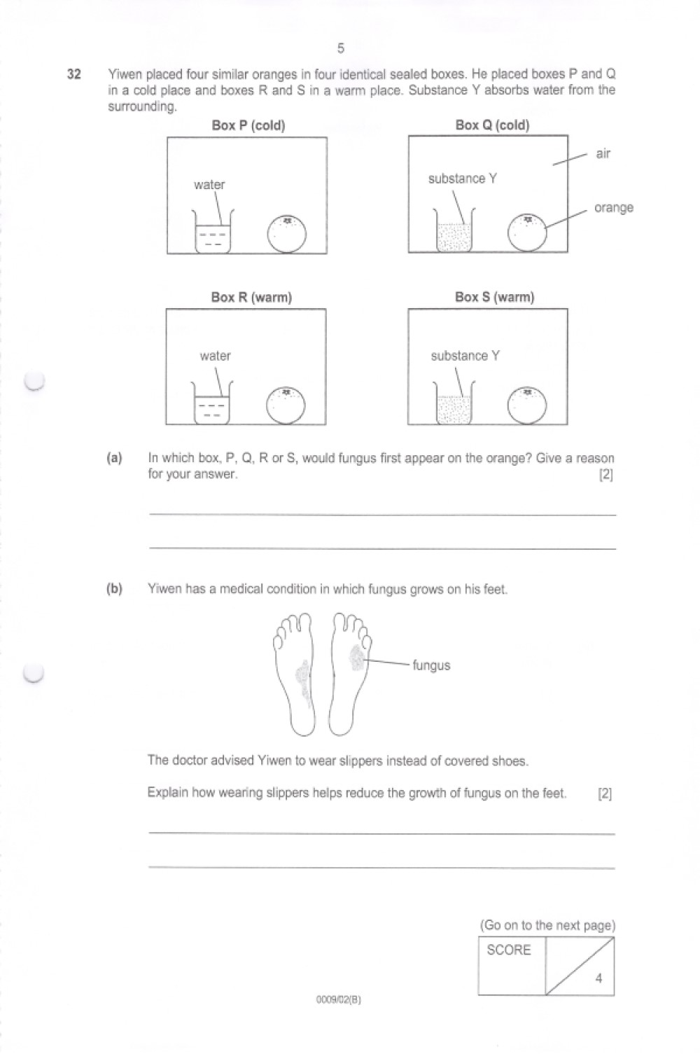 Structured Free Response Questions